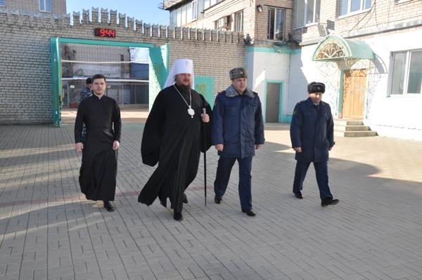 Глава Костромской митрополии совершил Божественную литургию в ИК-1 УФСИН России по Костромской области
