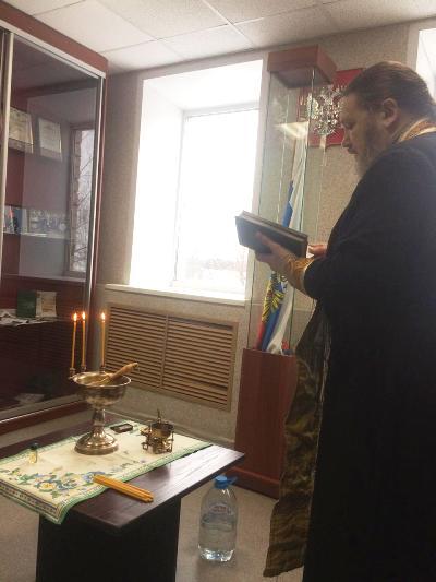 В ИК-1 УФСИН России по Костромской области состоялось освящение здания административного штаба