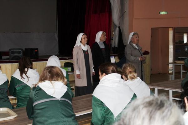 Выходные дни в женской ИК-3 УФСИН России по Костромской области прошли под знаком духовного воспитания