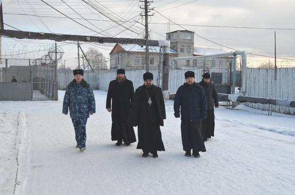 ИК-4 УФСИН России по Костромской области с визитом посетил епископ Галичский и Макарьевский Алексий