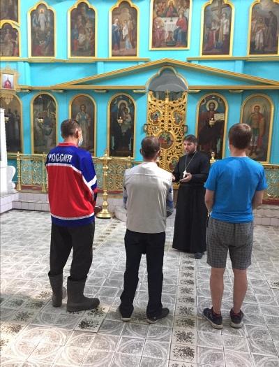Осужденные, состоящие на учете в Мантуровском межмуниципальном филиале УИИ УФСИН России по Костромской области, посетили храм