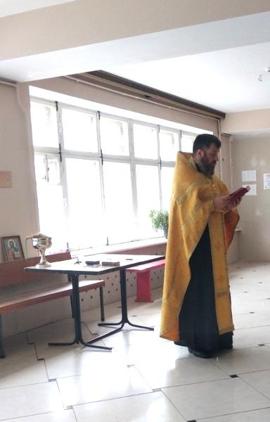 В УИИ УФСИН России по Костромской области прошел обряд освящения