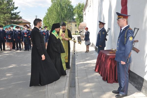 В СИЗО-2 УФСИН России по Костромской области открыли мемориальную доску в память о ветеранах и участниках Великой Отечественной войны