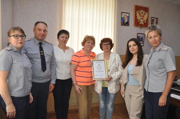 Мария Каннабих вместе с представителями социально-реабилитационного центра «Аврора» посетили ИК-3 и ИК-8 УФСИН России по Костромской области
